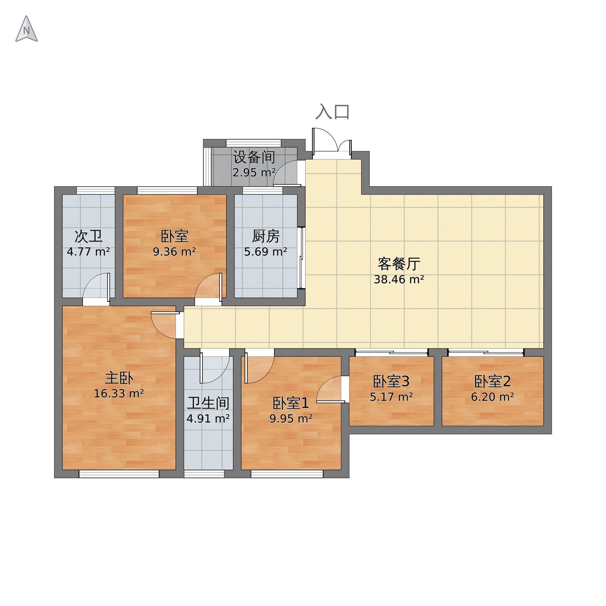 清溪川9号户型图