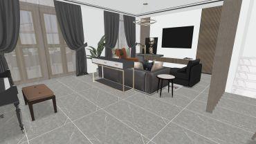 现代风格五室三厅装修设计效果图