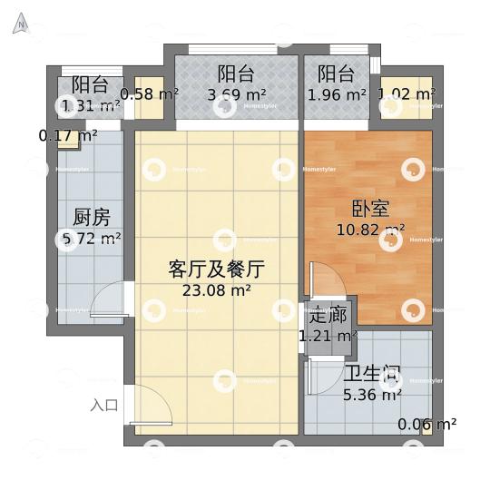 玉兰湾3号楼户型图