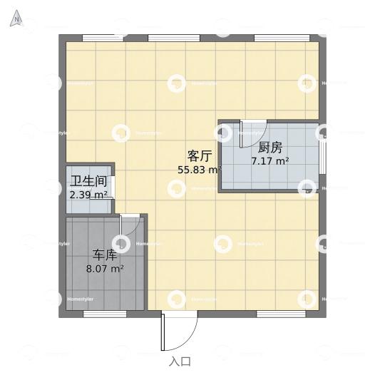 武警医院宿舍户型图