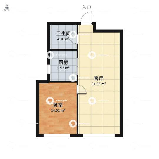京贸国际城户型图