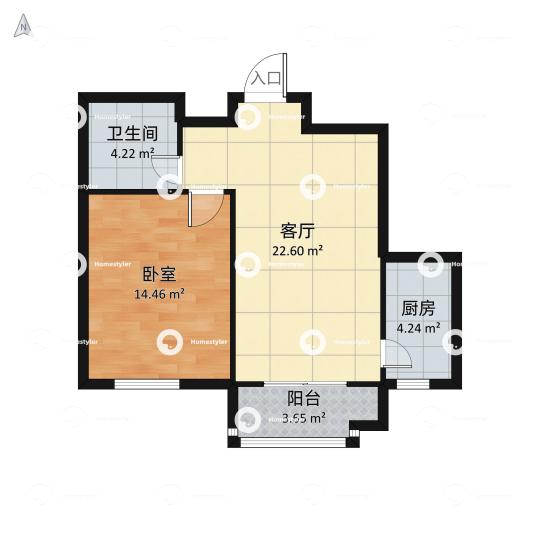 玺萌公馆户型图