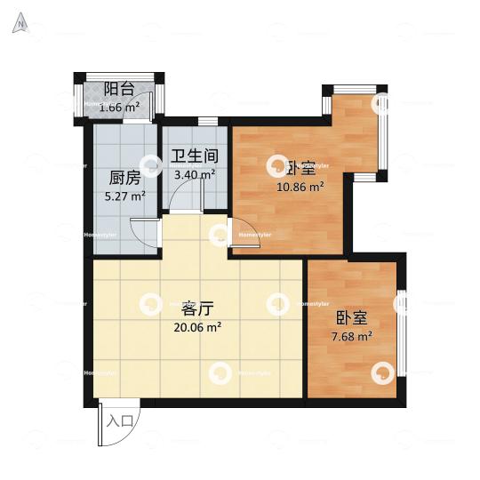北京新天地三期户型图