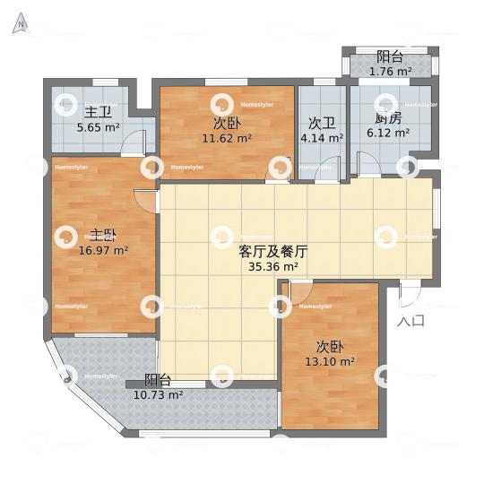 永和家园户型图
