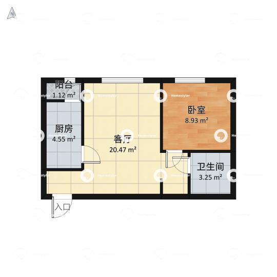 北京新天地一期户型图