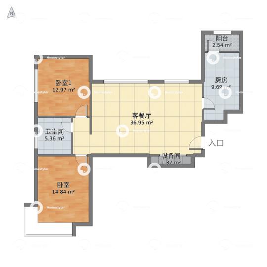 北京理工大学社区户型图