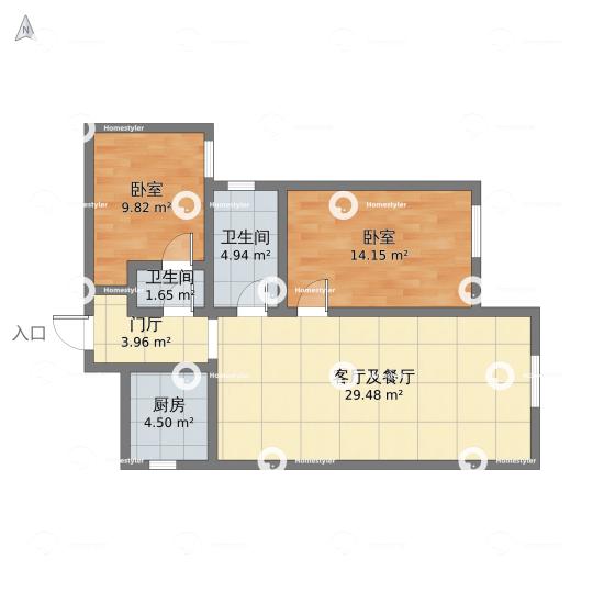K2玉兰湾户型图