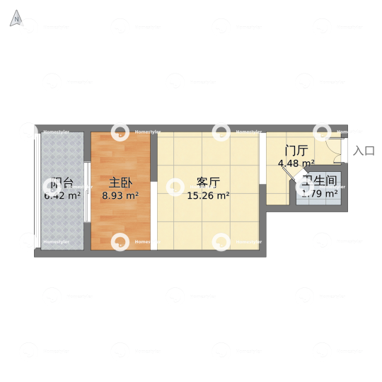 质城·花市枣苑户型图