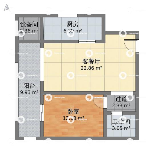 玉泉新城户型图