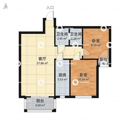 天伦锦城户型图