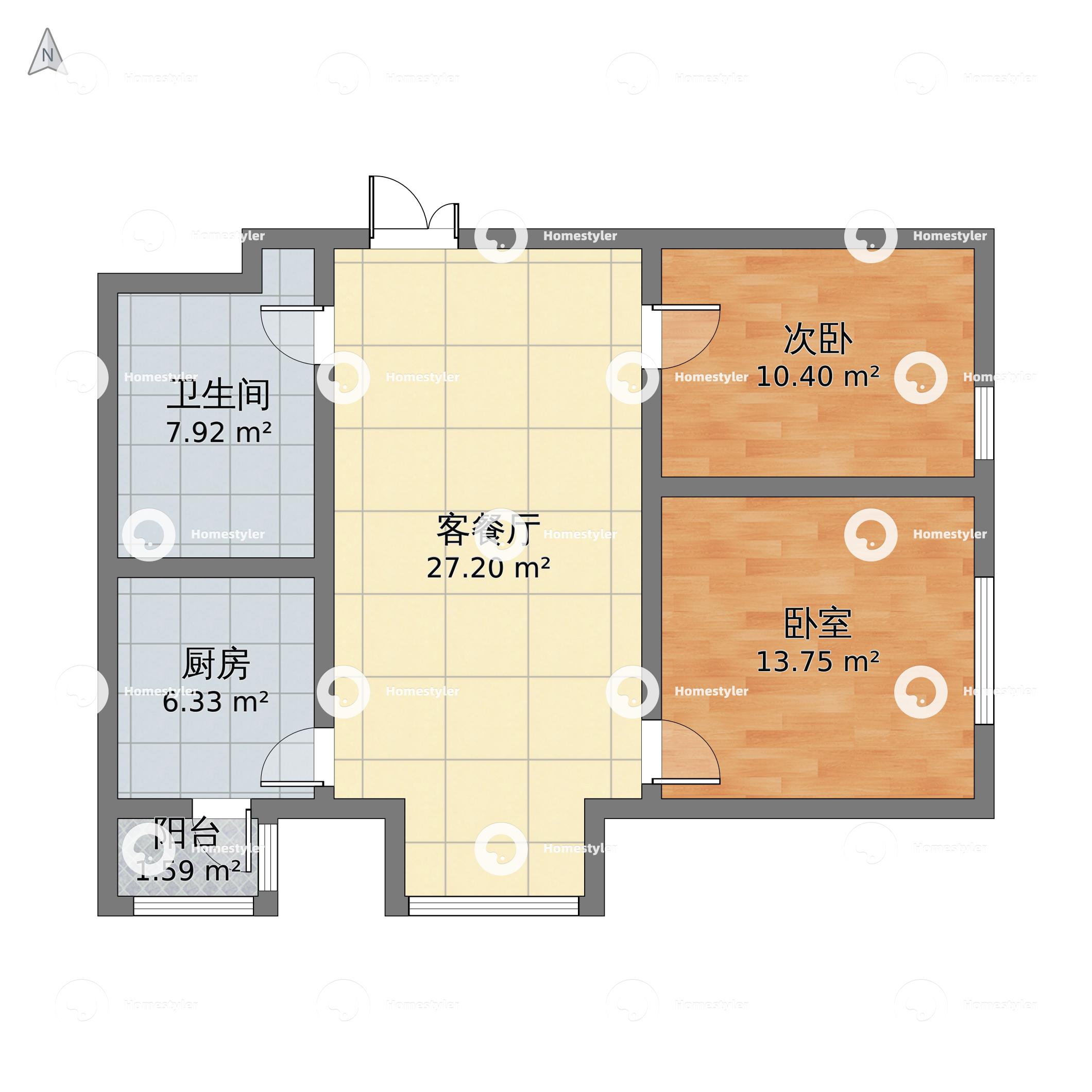 悠唐麒麟公馆ELITE公寓区户型图