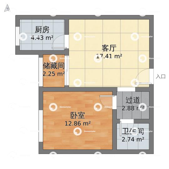 珠江拉维小镇小区户型图