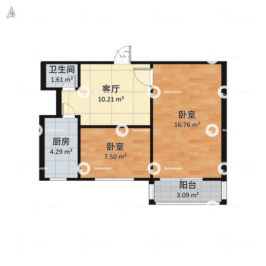 科委宿舍户型图