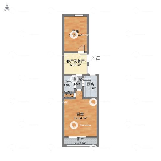东四块玉南街30号院小区户型图