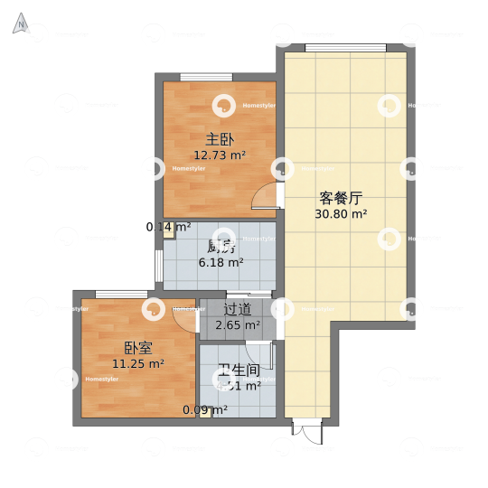 中铁西城 户型图