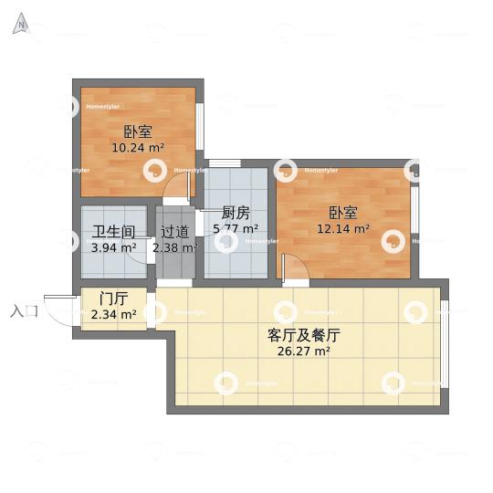 中铁西城小区户型图
