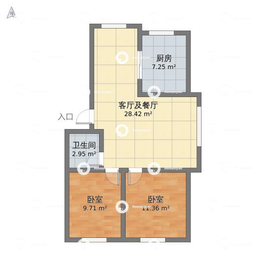 龙城区·紫檀阁户型图