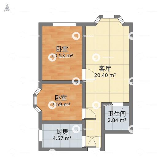 芳城园户型图
