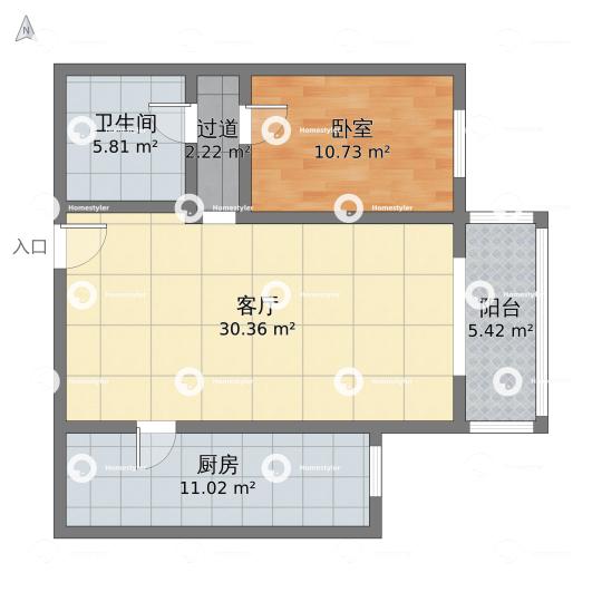 芳城园一区户型图