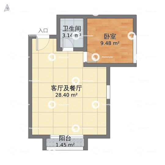 CBD传奇小区户型图