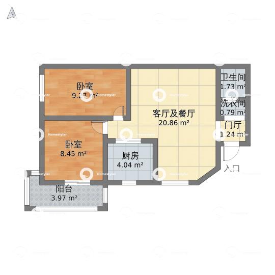 芳城园二区户型图