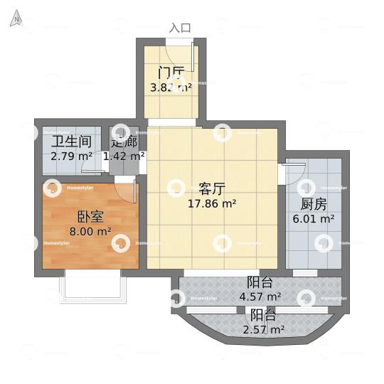 加华印象街小区户型图