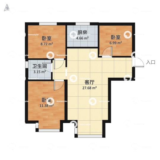 长阳国际城一区户型图