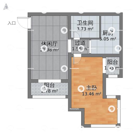 西红门理想城18号楼户型图