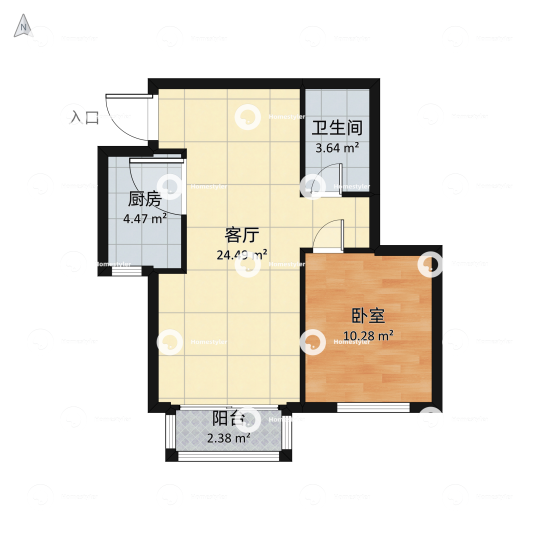 北京新天地四期户型图